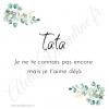 Future Tata, annonce tata, cadeau original, annonce grossesse,bracelet jonc,bracelet tata, jonc ouvert